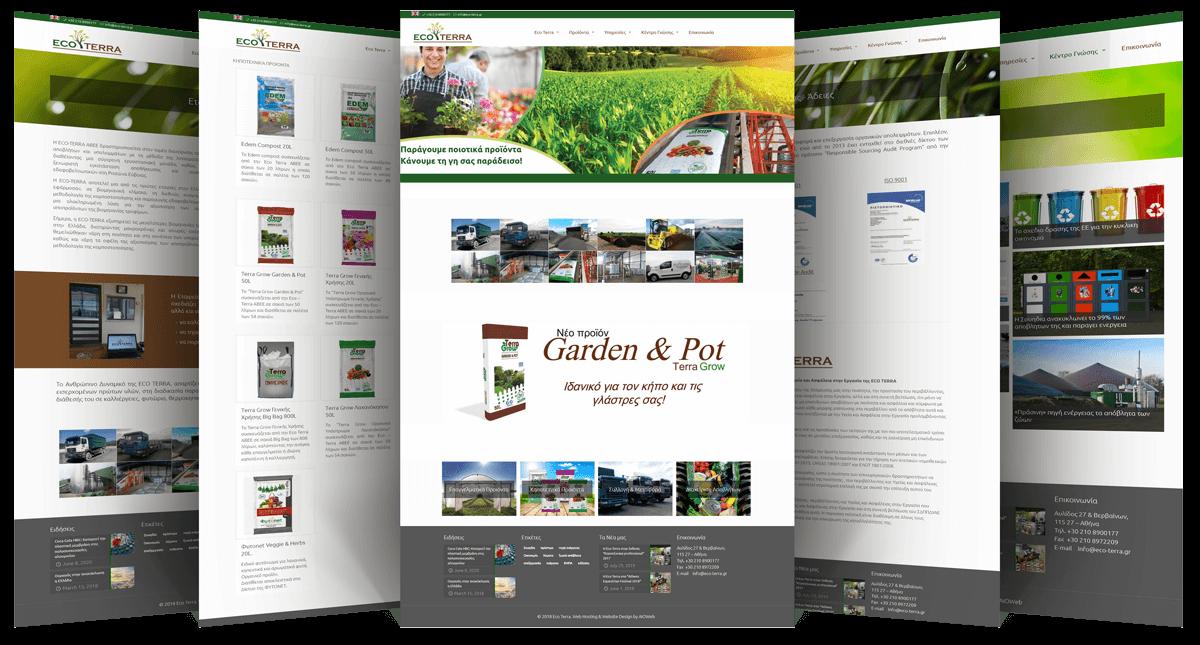 Εικόνες της Ιστοσελίδας eco-terra.gr