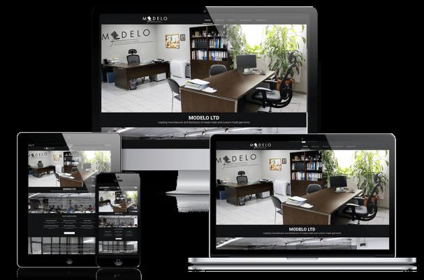 Απεικόνιση της Αρχικής Σελίδας της Ιστοσελίδας modeloltd.com
