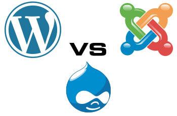 Joomla, WordPress, Drupal, άλλη πλατφόρμα, ποια είναι η καλύτερη επιλογή; - WordPress Joomla Drupal