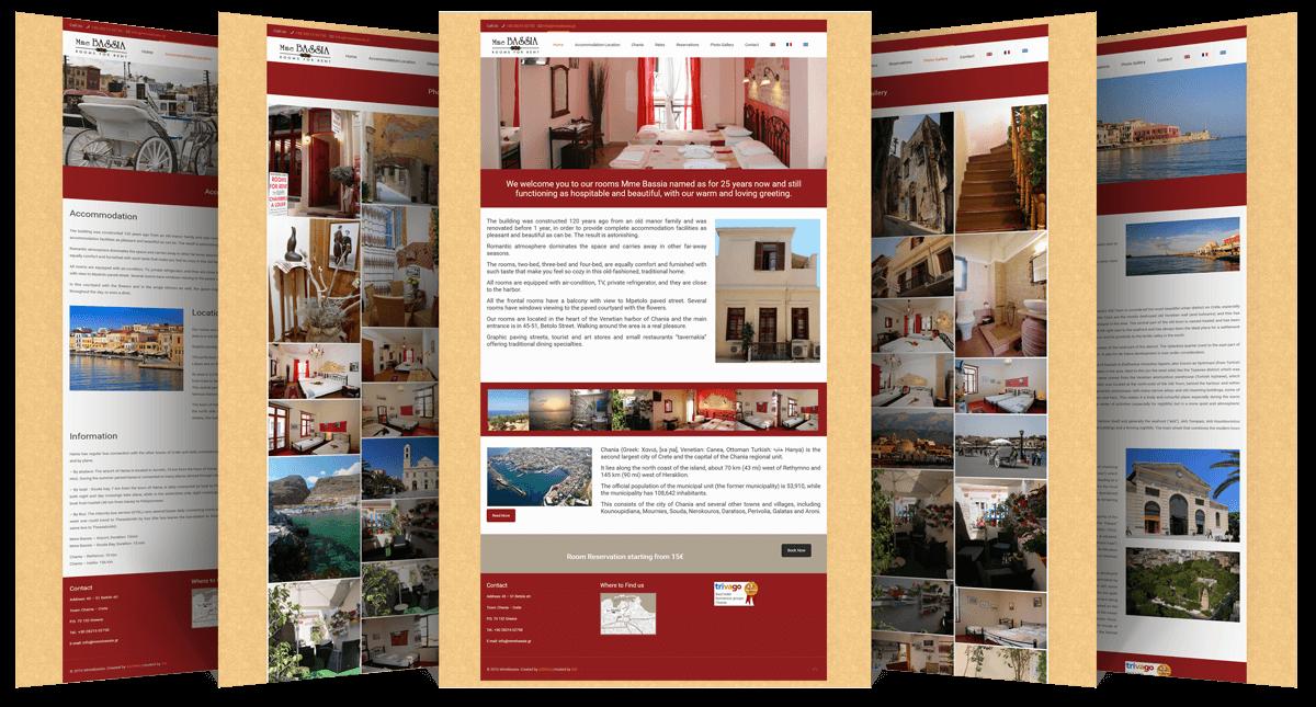 Εικόνες της Ιστοσελίδας mmebassia.gr